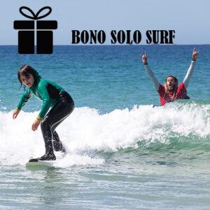 Bono regalo 1 clase de surf en galicia