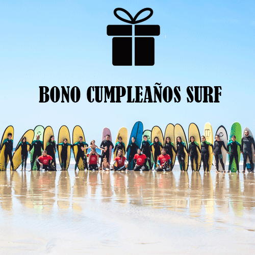 bono regalo surf cumpleaños en galicia