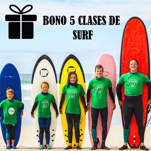 Bono semanal surf en Corrubedo As furnas