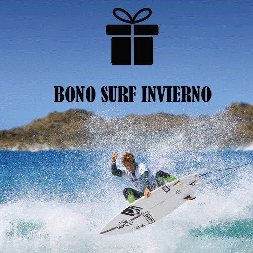 Bono regalo clase de surf - Bono Regalo surf classes - surf school galacia