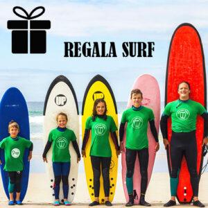 Bono regalos cursos de surf