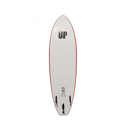 up surfboard way up back