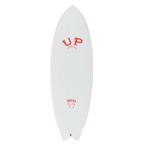 up surfboard vampire blanco rojo