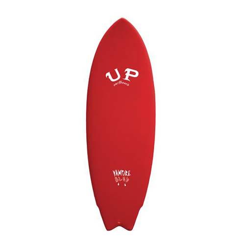 up surfboard vampire rojo blanco